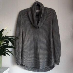 Calvin Klien Grey Cowl Sweater